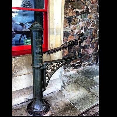 Victorian Wall Art - Photograph - #turnstile #antique #victorian #station by Boo Mason
