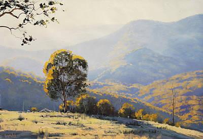Turon Hills Art Print by Graham Gercken