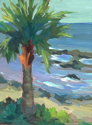 Spain Painting - Turquoise Water by Diane McClary