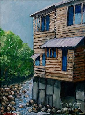 Turrialba's House Art Print