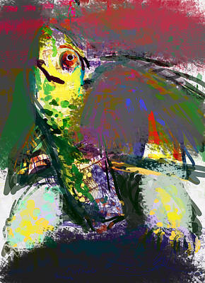 Turtle Art Print by James Thomas