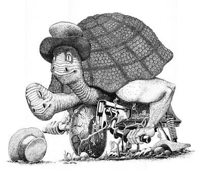 Turtle Thing Art Print by Olin  McKay