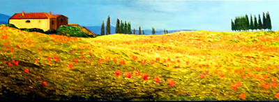 Painting - Tuscan Beauty by JoeRay Kelley