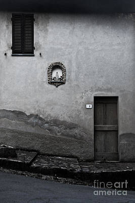 Tuscan Door Art Print by Steven Gray