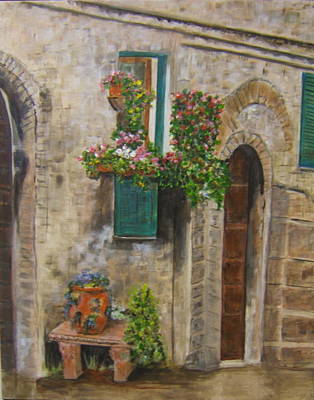 Tuscan Window Art Print