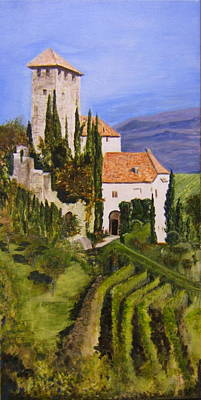 Tuscany 1 Art Print by Maureen Pisano