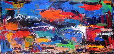 Portofino Italy Painting - Tuscany 51 by Len Yurovsky