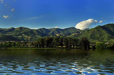 Photograph - Tuscany Lunigiana Mounts Landscape by Enrico Pelos