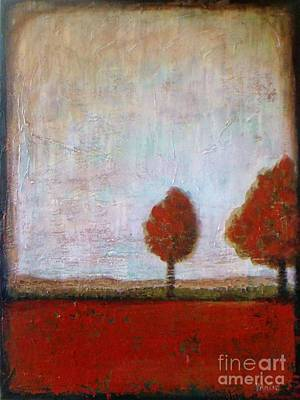 Tuscany Red Original by Vesna Antic
