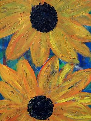 Photograph - Tuscany Sunflowers by Diane Height