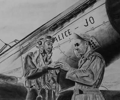 Tuskegee Airmen Art Print by Brian Hustead