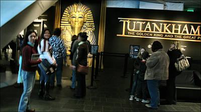 Photograph - Tutankhamun 2010 by Glenn Bautista