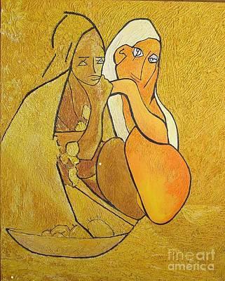 Tutu - Tu-two  Art Print by Geoffrey Mann