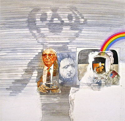 Painting - Tv - Inventor by Cliff Spohn