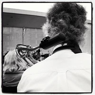 Jazz Wall Art - Photograph - Tweede Sax Wacht by Arthur Geursen