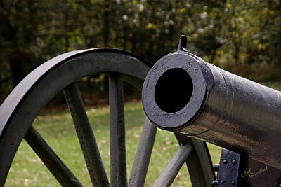 Photograph - Twelve-pound Howitzer by Judi Quelland