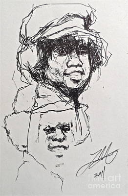 Twice Michael Art Print