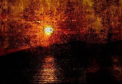 Photograph - Twilight Burn by Barbara  White