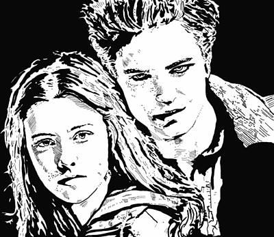 Twilight Art Print by Lori Jackson