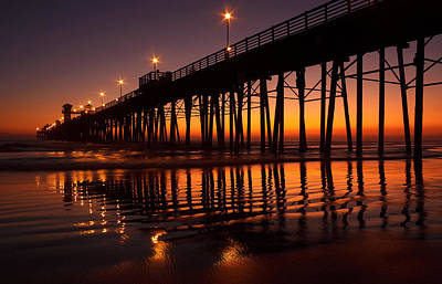 Photograph - Twilight Night Lights by Donna Pagakis