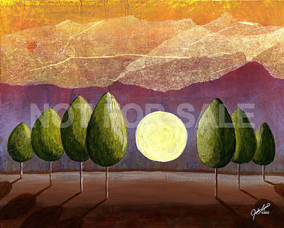 Painting - Twilight by The Art Of JudiLynn