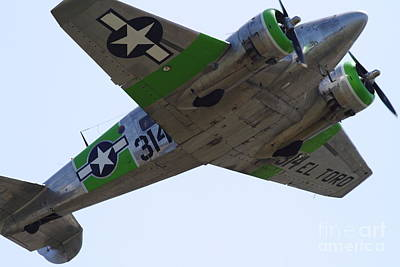 Photograph - Twin Beech C-45 Expeditor . 7d15645 by Wingsdomain Art and Photography