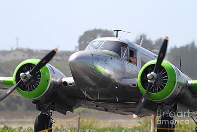 Photograph - Twin Beech C-45 Expeditor . 7d15677 by Wingsdomain Art and Photography