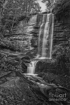 Photograph - Twin Falls by David Waldrop