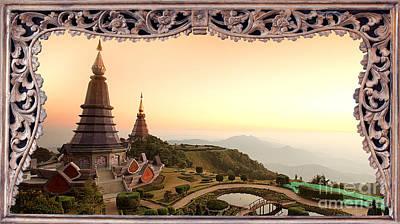 Twin Rolay Pogoda. Original by Anek Suwannaphoom