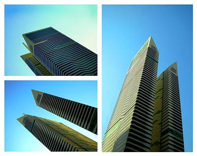 Futurism Architecture Wall Art - Photograph - Twin Towers by Farah Faizal