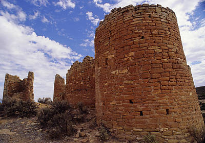 Photograph - Twin Towers Hovenweep by John Brink