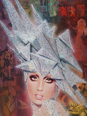 Bad Romance Painting - Twinkle Twinkle Little Star by Stapler-Kozek