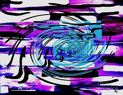 Twisted Art Print by Marsha Heiken