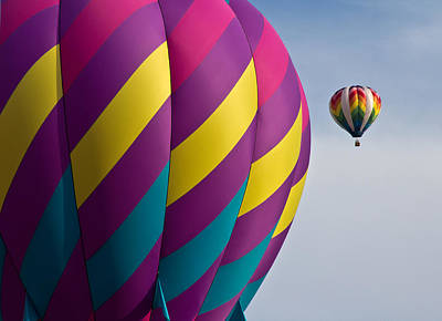 Balloon Race Art Print by Pat Eisenberger