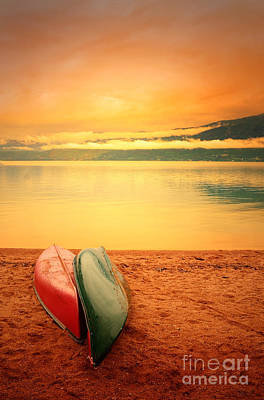 Photograph - Two Canoes by Tara Turner