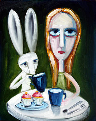 Painting - Two Cup Cakes by Leanne Wilkes