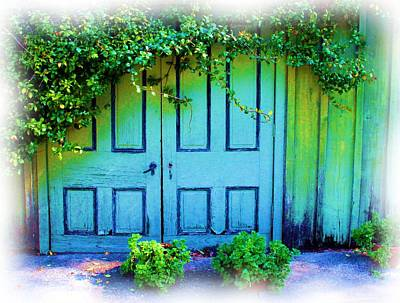 Photograph - Two Doors by Judi Bagwell