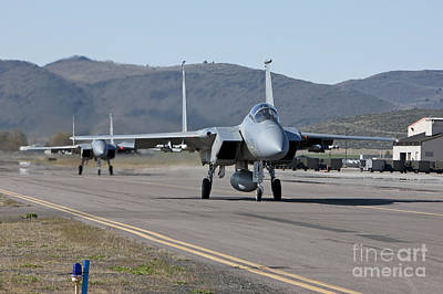 Nirvana - Two F-15 Eagles Taxi Out To Take by HIGH-G Productions