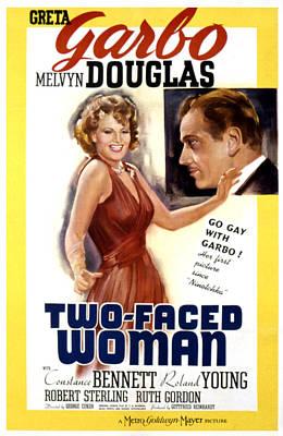 Two-faced Woman, Greta Garbo, Melvyn Art Print