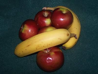 Two Favorite Fruits Art Print