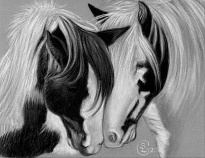 Two Gypsies Art Print by Stephanie L Carr