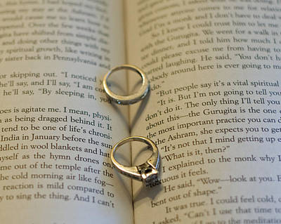 Custom Ring Photograph - Two Hearts II by Malania Hammer