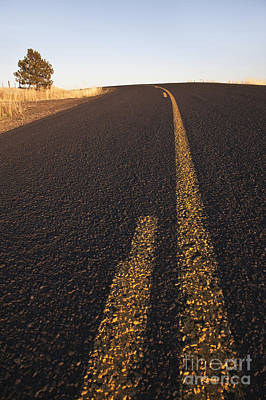 Two Lane Road Between Fields Art Print by Jetta Productions, Inc