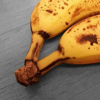 Banana Photograph - Two Of A Kind. #two #banana #bananas by Jess Gowan