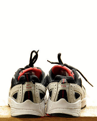 Photograph - Two Shoes by Nancy Greenland
