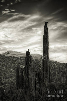 Photograph - Two Spires by David Waldrop