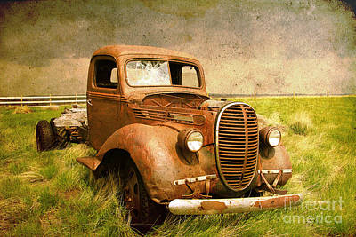Photograph - Two Ton Truck by Alyce Taylor