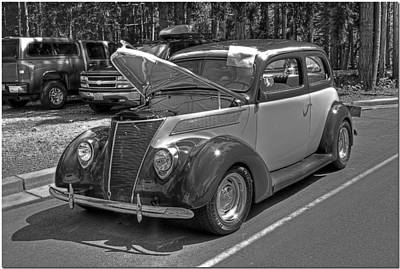 Photograph - Two Toned In Black And White by Chris Anderson