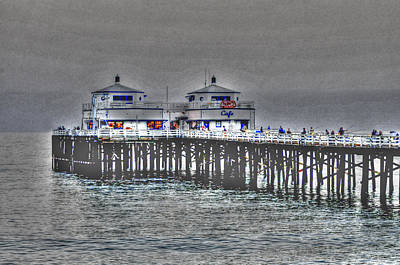 Photograph - Two Towers Malibu by Richard Omura