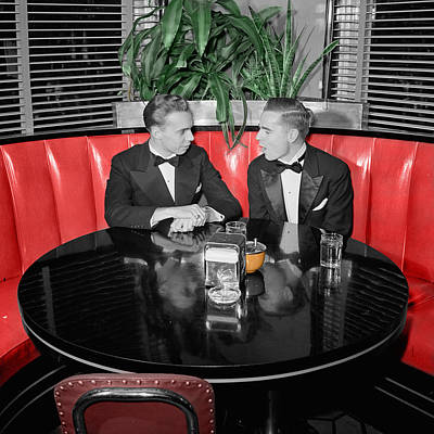 Photograph - Two Tuxedos by Andrew Fare